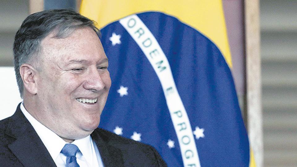 Cipayo Carioca: Bolsonaro ofreció a EE.UU. instalar una base en Brasil