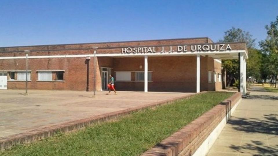 Hospital Justo José de Urquiza, donde la víctima ingresó ayer