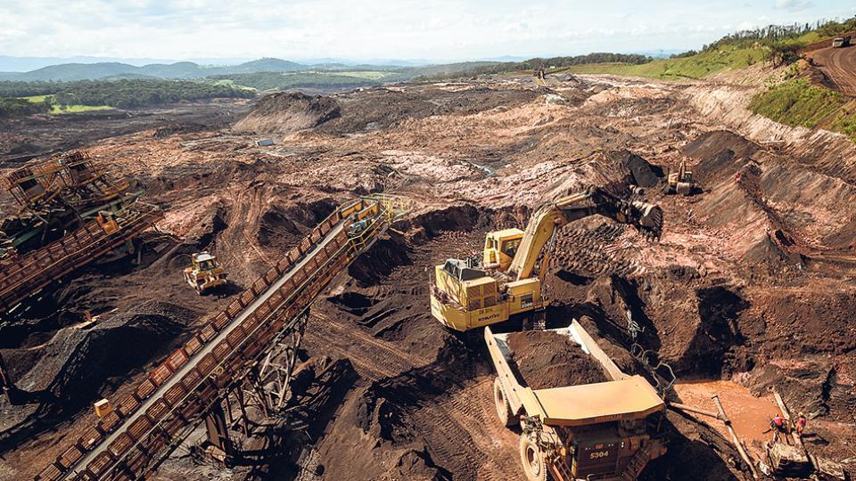 La catástrofe de Brumadinho, en Brasil, tuvo como responsable a la minera Vale.