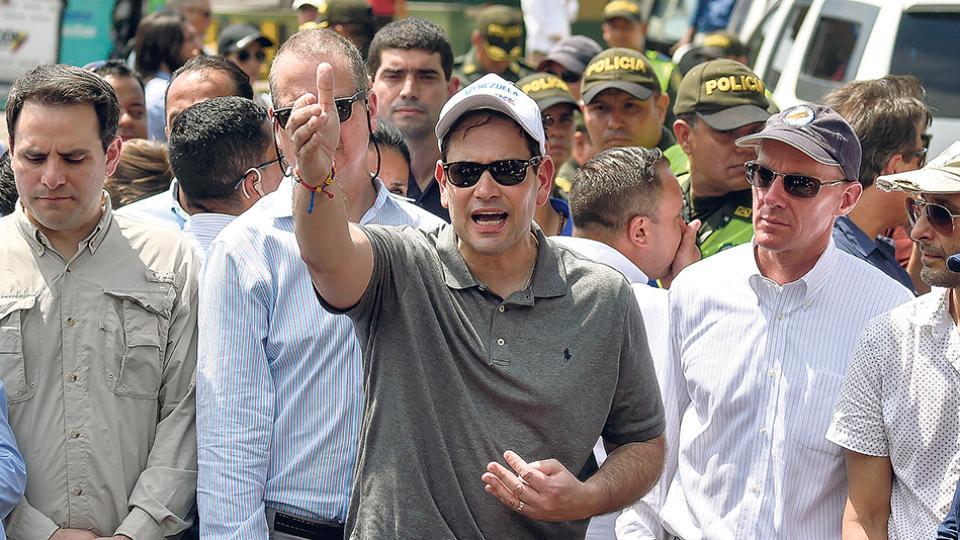 Marco Rubio es de los políticos norteamericanos más férreos opositores al gobierno de Maduro.