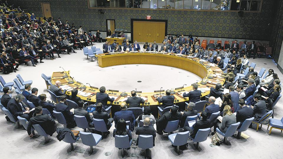 El Consejo de Seguridad de la ONU debate la crisis venezolana en Nueva York.