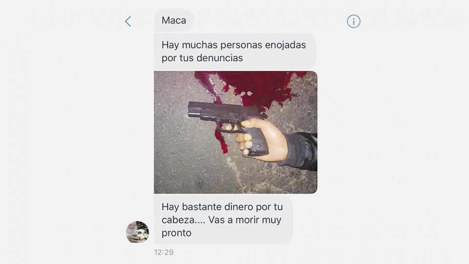 La Amenaza De Muerte Que Macarena Snchez Recibi En Su Cuenta Twitter
