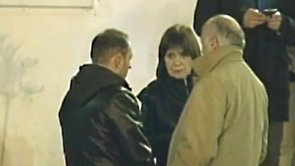La ministra de Seguridad Patricia Bullrich junto al espía Marcelo D'Alessio.