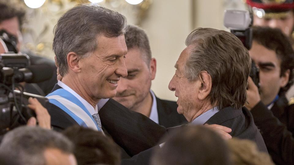 Mauricio y Franco Macri siempre tuvieron una relación personal complicada.