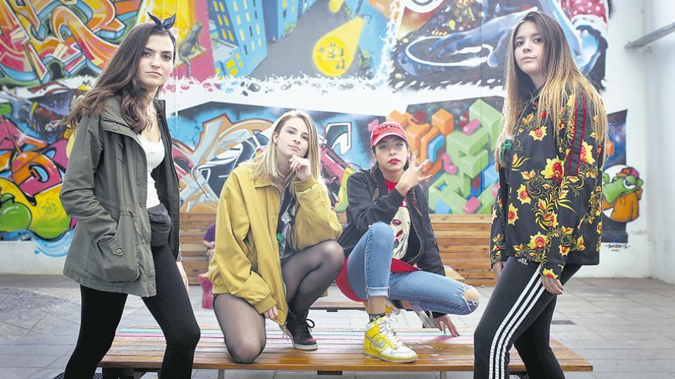 NTC, Roma, Aby y Sofía llevaron su militancia feminista al rap