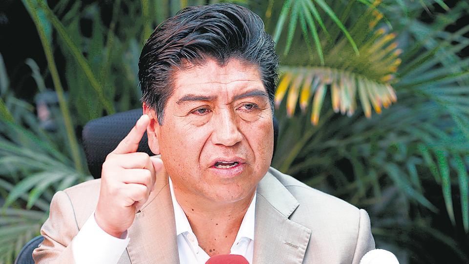Jorge Yunda, electo alcalde de Quito, fue asambleísta del partido de Correa.