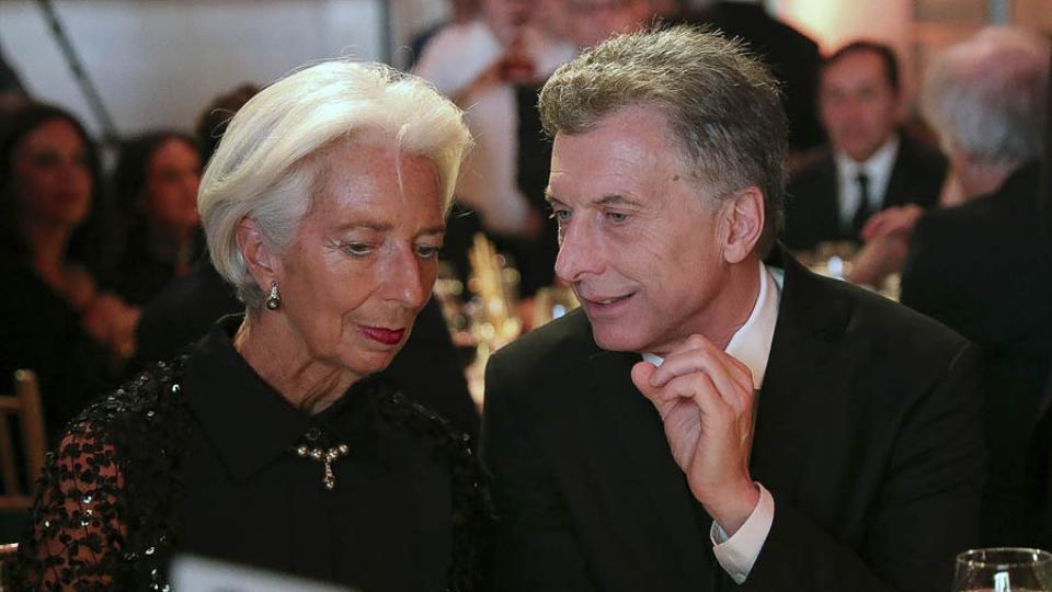 Resultado de imagen para Macri FMI