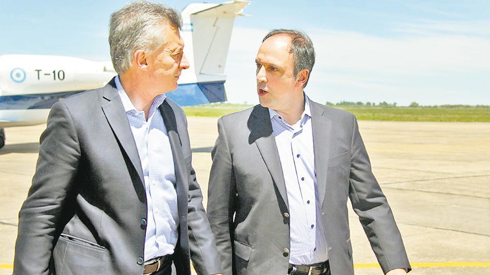 Mauricio Macri y José Corral