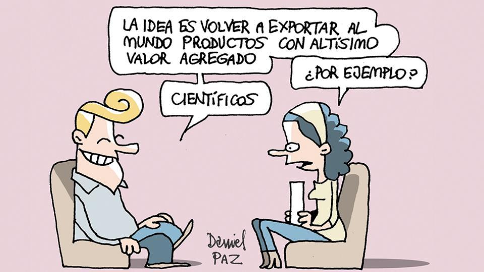 Los investigadores exigen la renuncia de Lino Barañao, secretario de Ciencia.