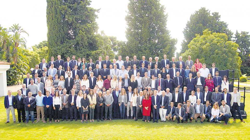 Macri y Vidal se reunieron ayer con los candidatos a intendentes.