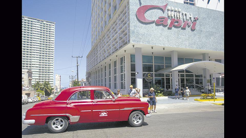 El hotel Capri de La Habana, perteneciente a la cadena internacional NH.