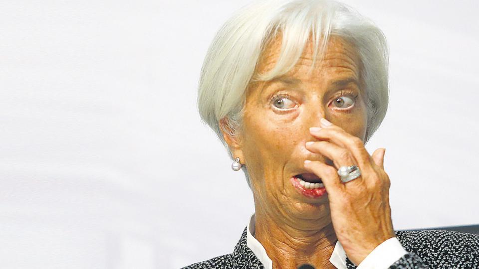 Directora del FMI, Christine Lagarde.