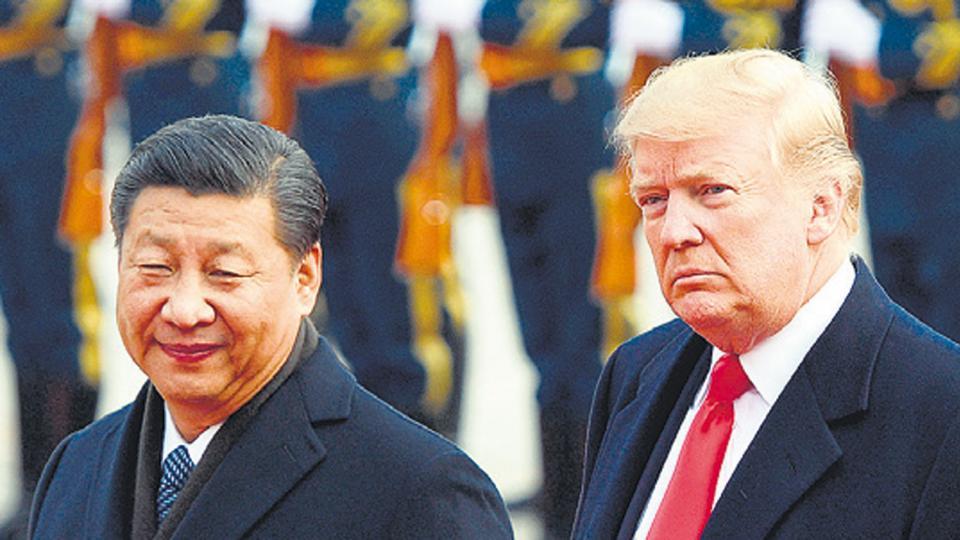 Presidentes Xi Jinping y Donald Trump.