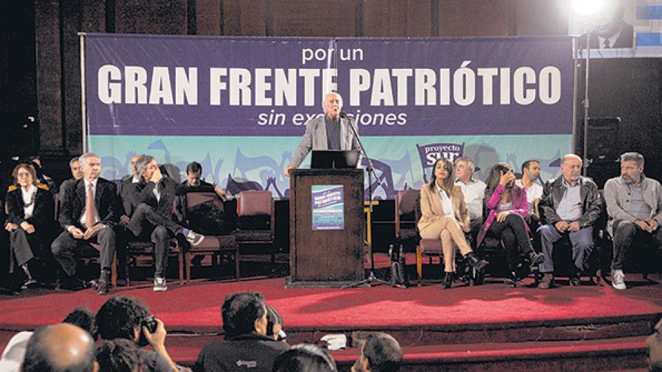Los participantes coincidieron en armar un frente político sin exclusiones.
