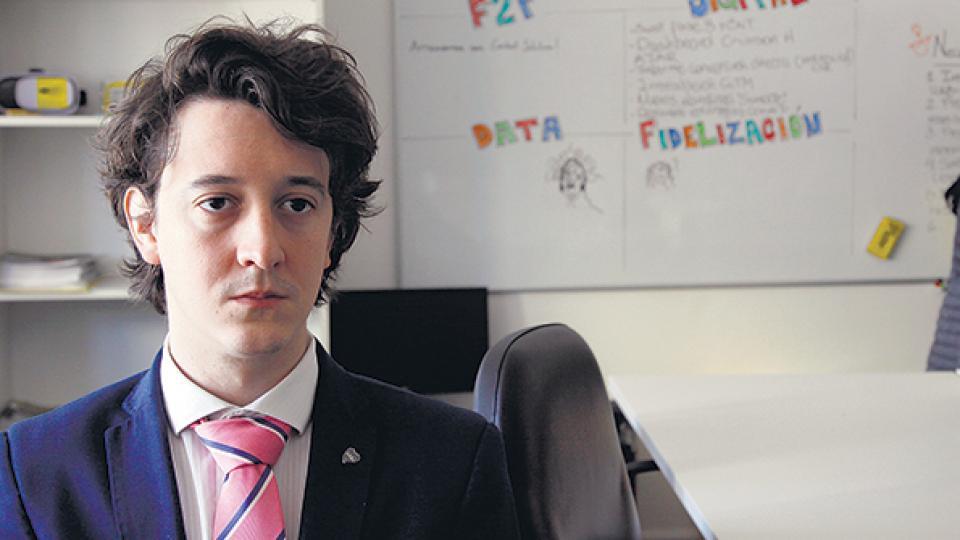 Juan Martín Villanueva es el abogado de Vanessa Gómez Cueva.