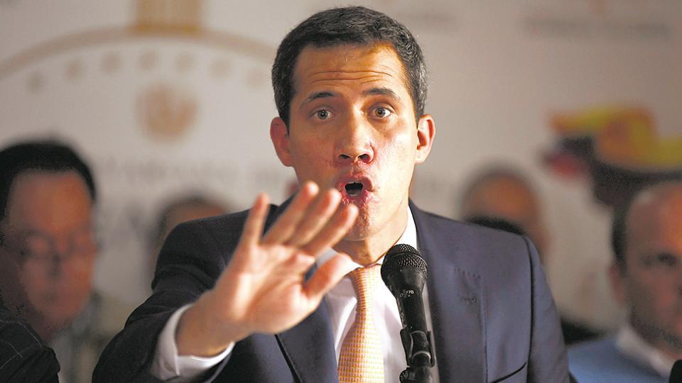 Juan Guaidó busca apoyos para una cooperación militar de EE.UU.