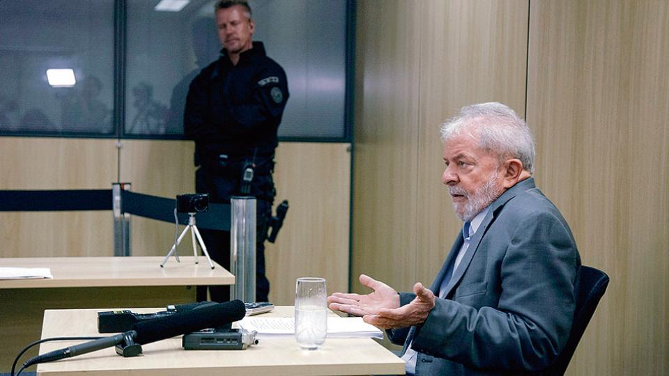 Lula dijo que hoy no piensa en una candidatura.
