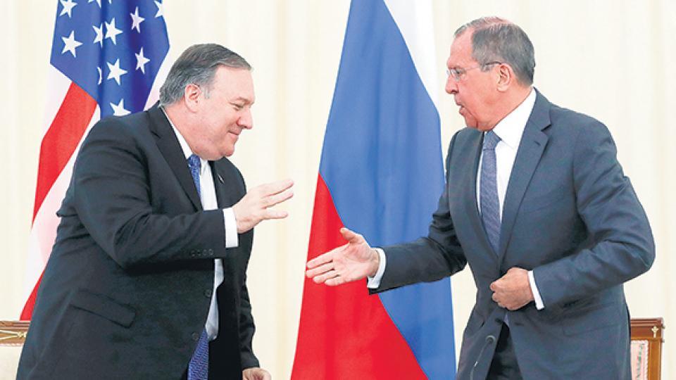 Pompeo y Lavrov hablaron de Venezuela durante una reunión en el balneario de Sochi.