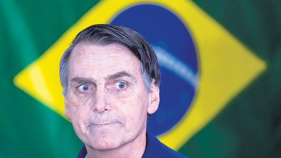 Bolsonaro fue condenado por sus expresiones sexistas contra una diputada del PT.