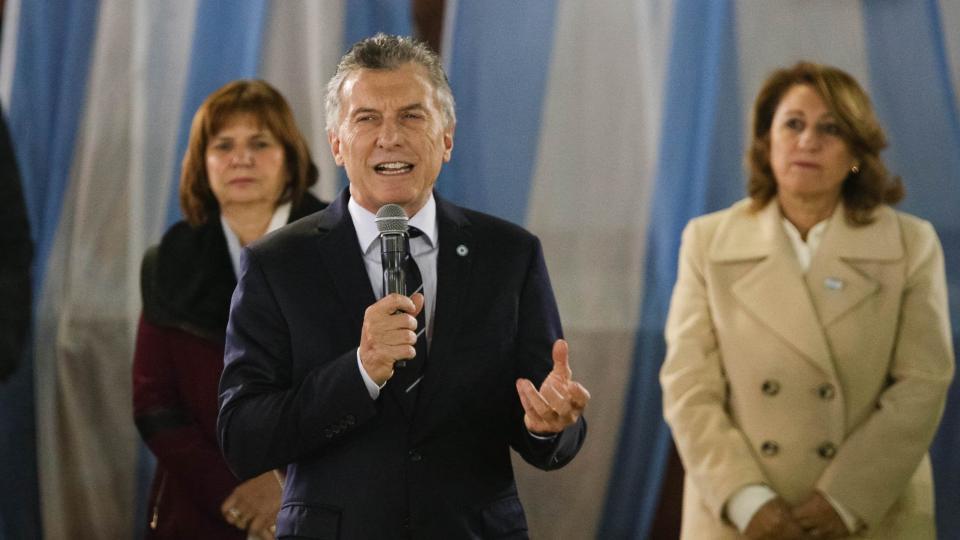 Mauricio Macri en Rosario.