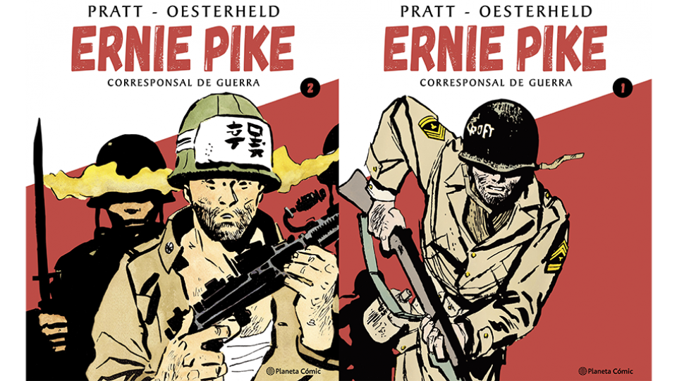 "Reeditan ""Ernie Pike"", historieta clave de Oesterheld-Pratt"
