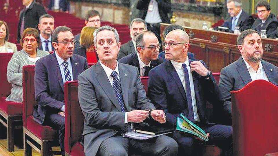 Condenaron a los independentistas catalanes