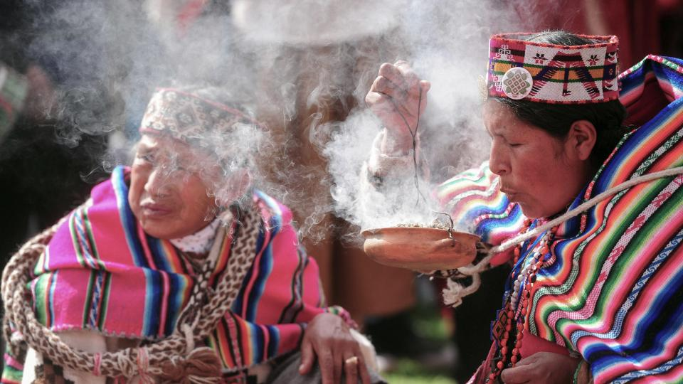 La celebración de la Pachamama en medio de la pande...  | Página12