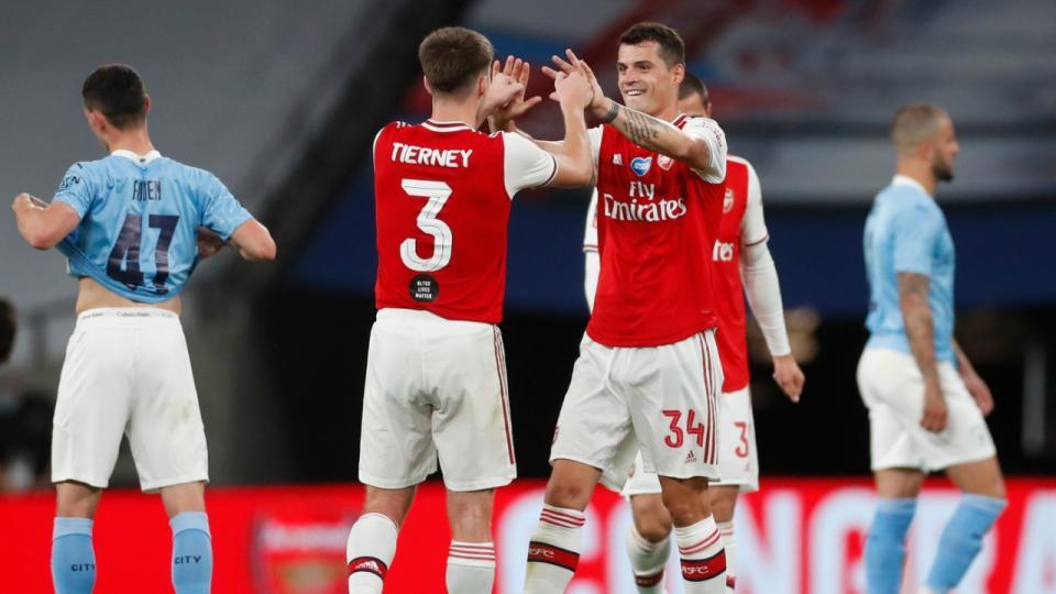 FA Cup: Arsenal eliminó al Manchester City en semifinales