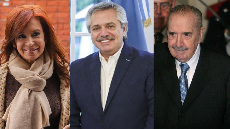 Imaginario: Alberto, Alfonsín, Cristina