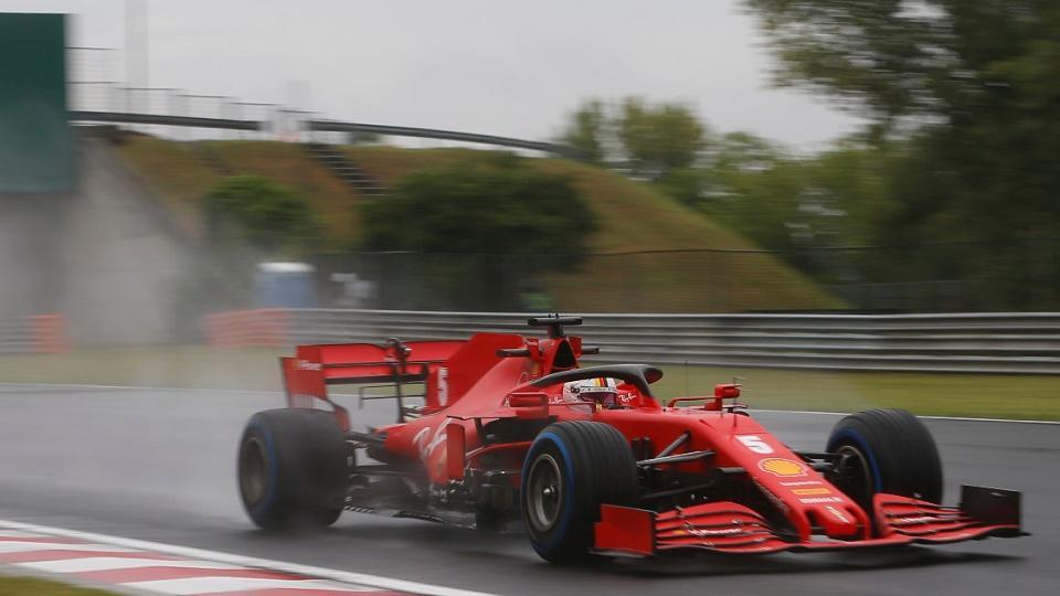 Fórmula 1: Hamilton y Vettel se repartieron las pruebas en Hungría