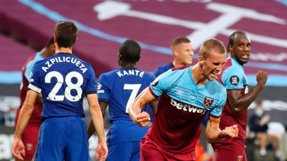 West Ham superó a Chelsea y sigue luchando por la p...  | Página12