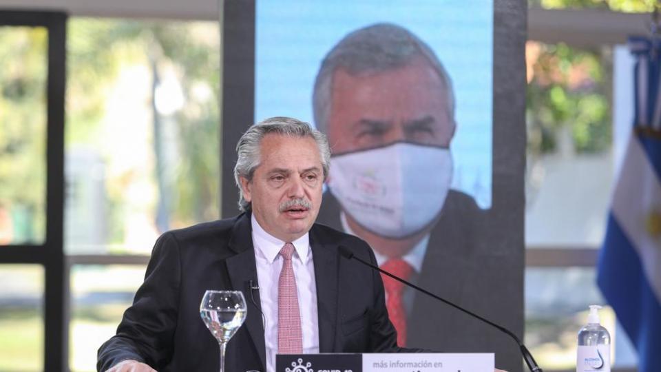 Alberto Fernández sobre la nueva cuarentena escalon...  | Página12
