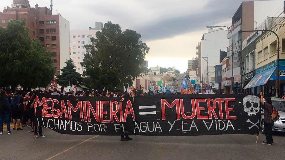 Megaminera un nuevo avance en Chubut  Eduardo El  Pgina12
