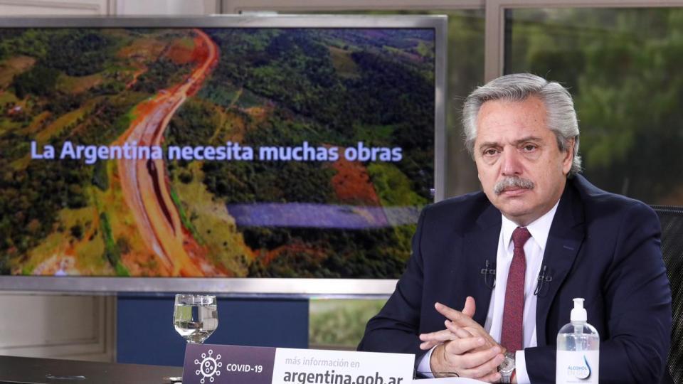 Alberto Fernández anunció obras para 5 provincias: ...  | Página12