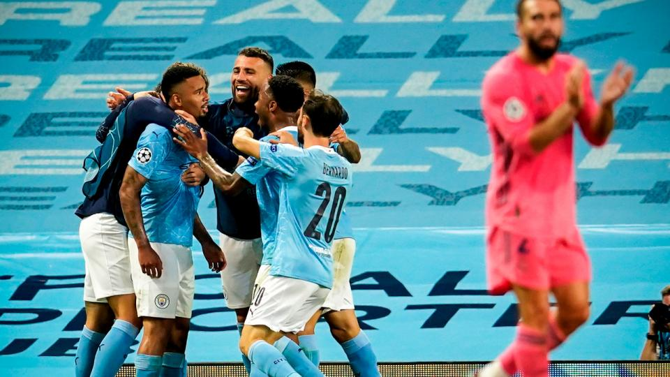 Champions League: Manchester City sacó a Real Madrid