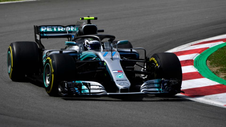 Fórmula 1: Bottas se quedó con el primer lugar de la grilla en Silverstone