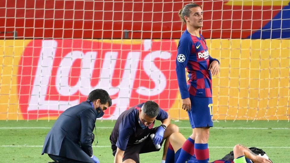 Messi podrá jugar el viernes próximo ante Bayern Múnich