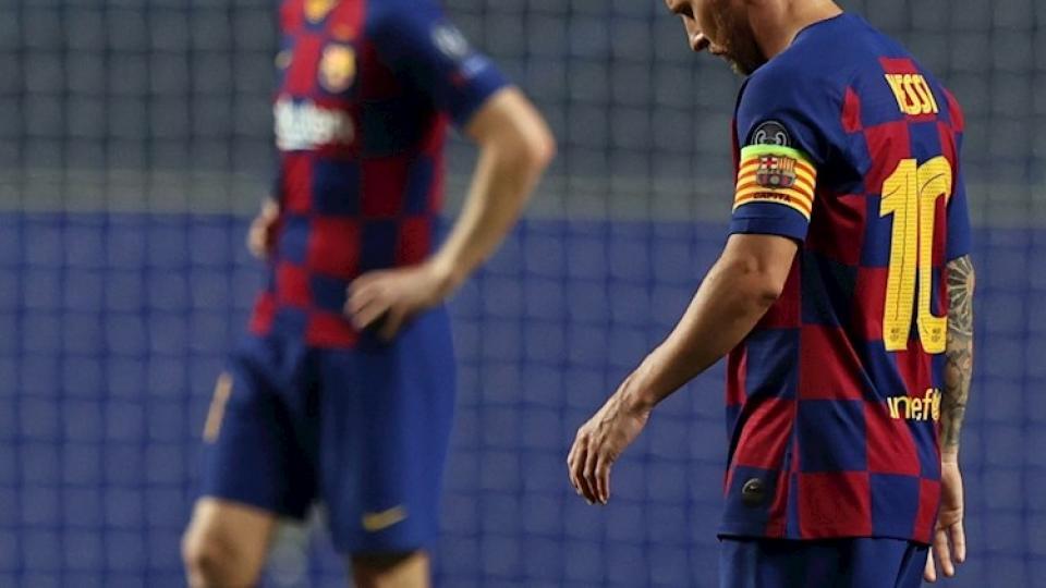 El Barcelona regresó en medio de la bronca de sus h...  | Página12