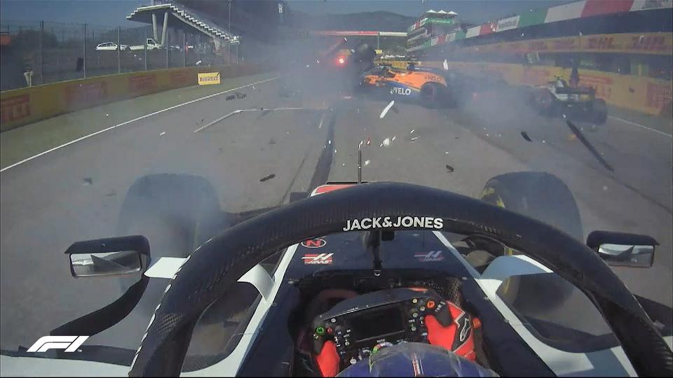 La FIA advirtió a 12 pilotos por el accidente en la Fórmula Uno