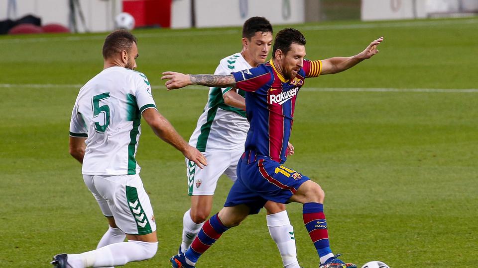 Messi y Barcelona volvieron a festejar