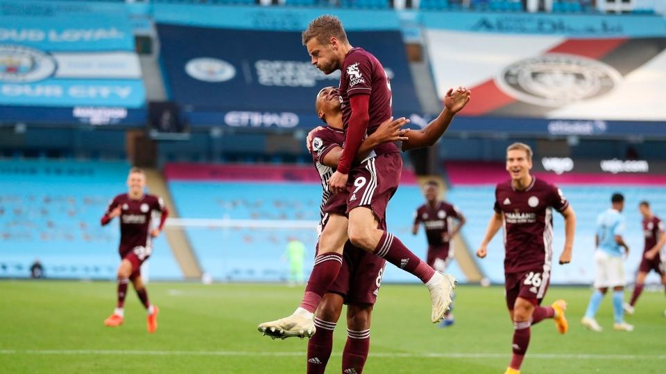 Leicester goleó a Manchester City y es líder en la ...  | Página12