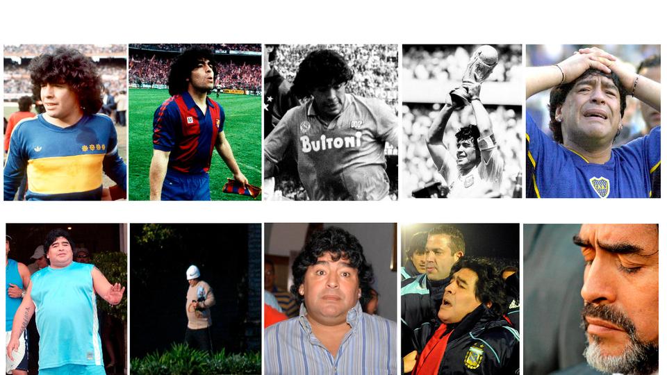Maradona: 60 años, 60 historias, 60 frases