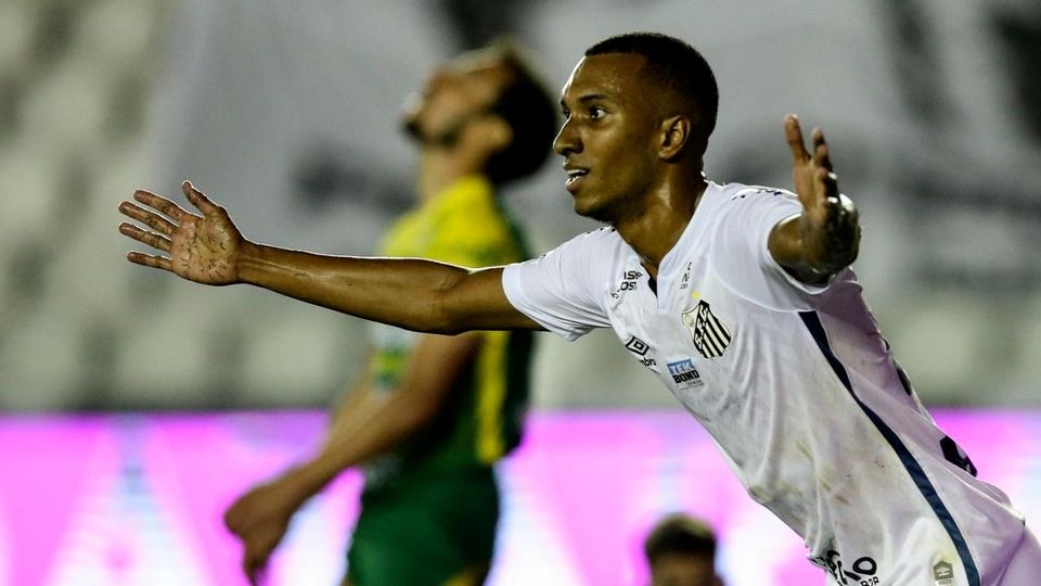 Santos dejó a Defensa y Justicia afuera de la Copa Libertadores en el final