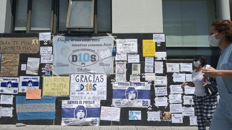 """Maradona: """"Diego es muy difícil, intentamos ser más fuertes que él"""""""