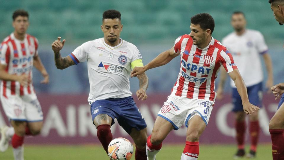 Unión perdió ante Bahía en Brasil por la Copa Sudamericana