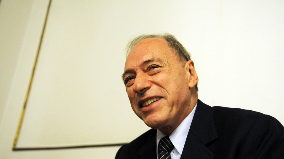 Raúl Eugenio Zaffaroni, ex juez de la Corte Suprema de Justicia.