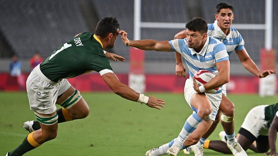 Rugby seven: impresionante triunfo de Los Pumas con un jugador menos | Fue  remontada ante Sudáfrica para meterse en semifinales | Página12