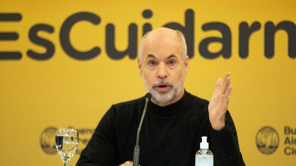 """""""La macroeconomía de hoy en Argentina es preocupante"""", dijo Horacio Rodríguez Larreta."""