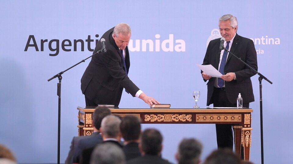 Perzyck, nuevo ministro del Gabinete nacional
