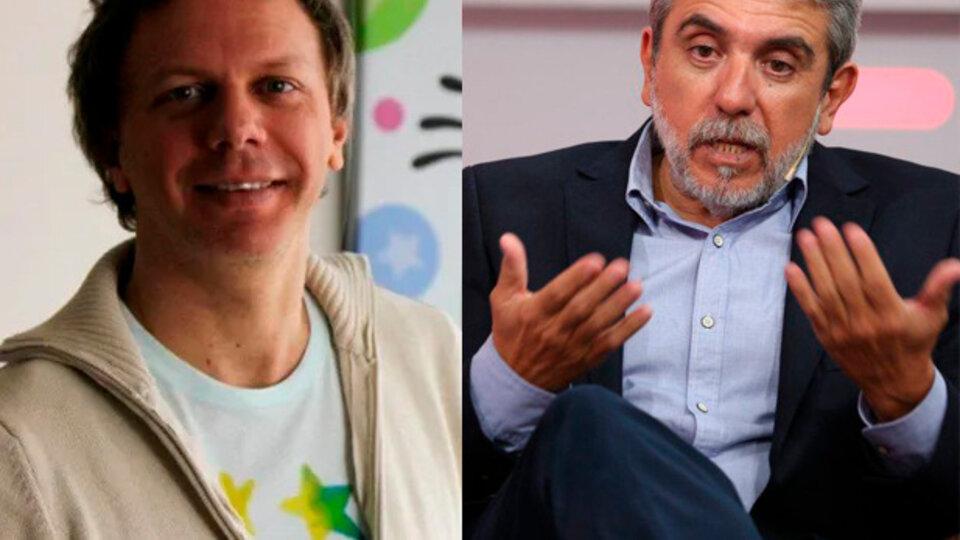 El cruce de Aníbal Fernández con el dibujante Nik en Twitter | El ministro se disculpó poruna alusión a la escuela de sus hijas